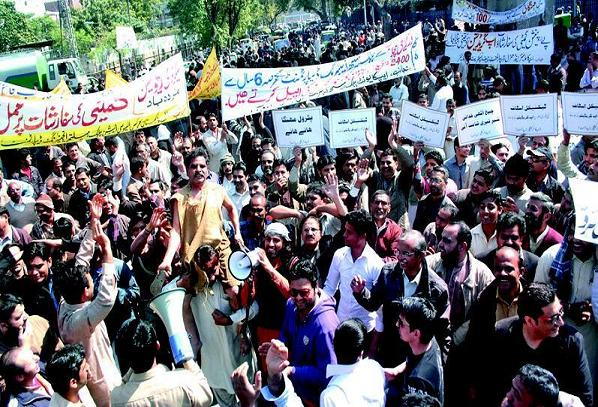 APCA protest