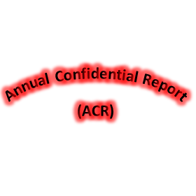 Annual Confidential Report (ACR)