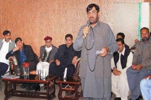 PHA Lahore Workers Union General Council Meeting, Hafiz Abrar Addressing