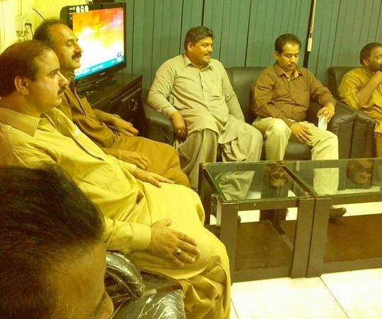 APCA negotiations with Sindh Govt in CM House Karachi