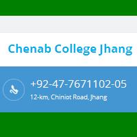 Chenab College 12-Kilometers Chiniot Road Jhang