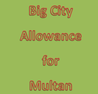 Shahbaz Sharif declared Big City to Multan