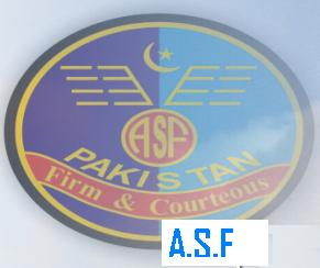 ASF - Airport Security Force Logo