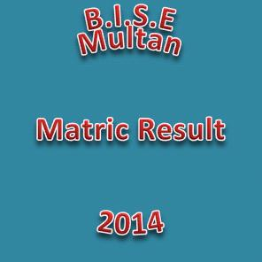 Multan, BWP and DGK Boards Announced MatricPosition Holders/Toppers 2014