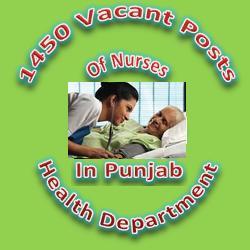Nurses Jobs in Punjab Health Department