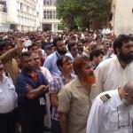 PIA Union Protest in Karachi 5