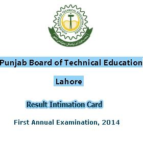 PBTE Board DAE 1st Annual Result 2014
