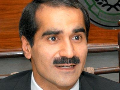 Railway Minister Khawaja Saad Rafiq