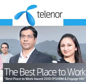 Telenor Careers/Jobs Portal Website