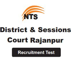District and Session Court Rajanpur - NTS Test