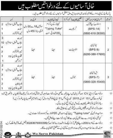 Jobs in Nowshera Cant Pak Army