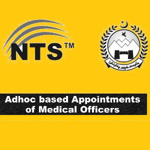 Jobs for Medical Doctors/Officers in KPK through NTS