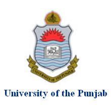 University of Punjab Lahore Logo