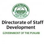 Directorate of Staff Development (DSD) Punjab Logo