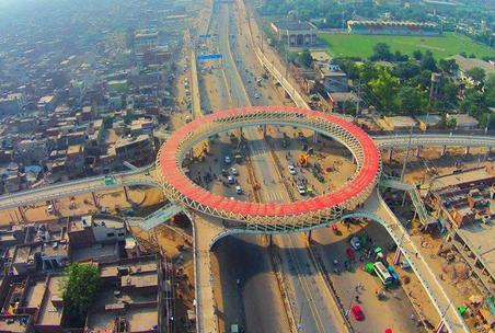 Flyover on Ferozepur Road Lahore Near General Hospital