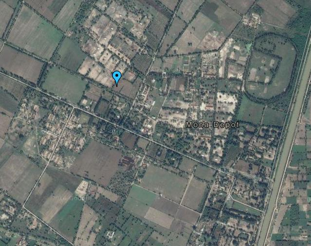 Mona Depot Mandi Bahuddin Near Head Faqiryan Satellite Map