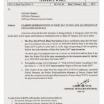 TEVTA Clarification on Revision of Basic pay Scale and Allowances of Employees dated 3-2-2015