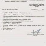 TEVTA Punjab Revised Pay Scales 2014 issued in 2015 (Page 3)