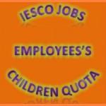 IESCO WAPDA Employees Son Quota