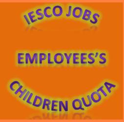 IESCO Vacancies for Employees Children Quota
