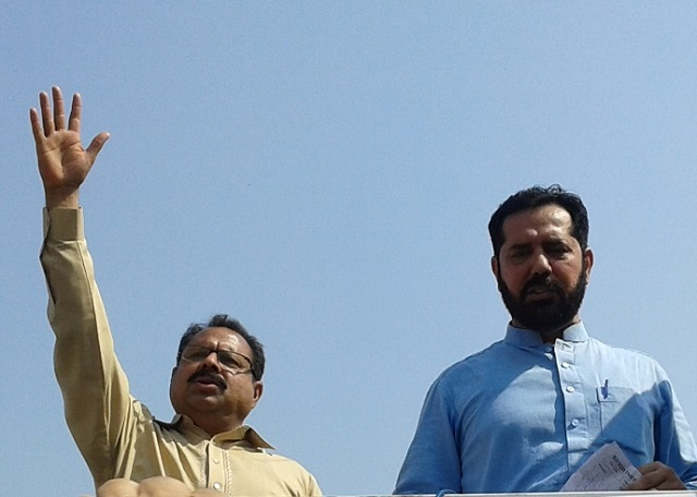 Abdul Qayyum Toor Addressing to SNGPL Workers in Multan