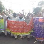 Motahidda Muhaz Asatiza Protest Multan