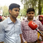 Paramedics Alliace Protest in Lahore 20-4-2015 g