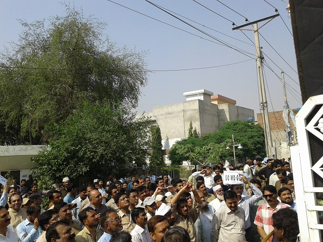 Suigas Union Workers gathering in Multan