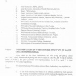 DG Health Punjab Notification - Implementation of 4-tier service structure of allied health professionals (Page 1/4)