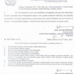 DG Health Punjab Notification - Implementation of 4-tier service structure of allied health professionals 4