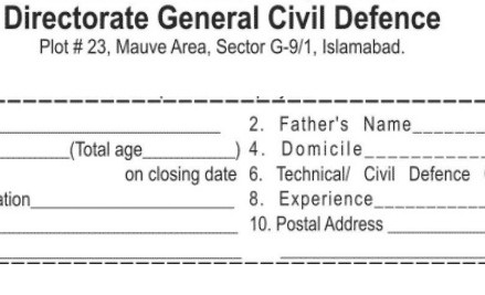 Jobs in Director General Civil Defence Abbottabad