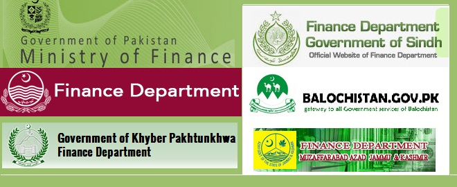Finance Ministry, Division and Departments in Pakistan