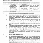 Notification of Revision of Basic Pay Scales 2015 and Allowanced of Federal Govt Employees 2