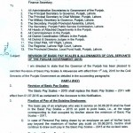 Revised Basic Pay Scales 2015 - Punjab Finance Department 1