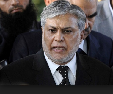 Ishaq Dar Finance Minister of Pakistan