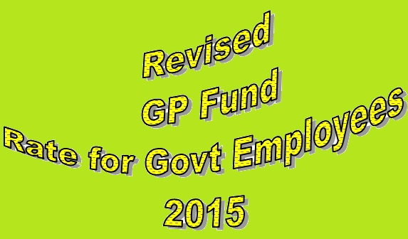 New GP Fund Rates 2015 (Scale 1 to 22)