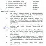 Notification of Punjab Educators Regularzation 2015 b