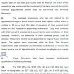 Notification of Punjab Educators Regularzation 2015 c