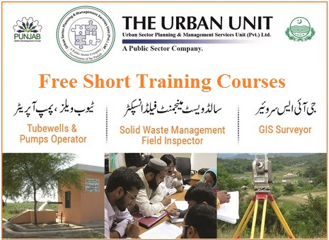 Urban Unit Free Training Courses