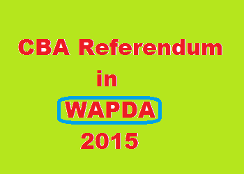WAPDA Hydro Union CBA Tenure Ended – Referendum Application in NIRC By Pegham Union Submitted