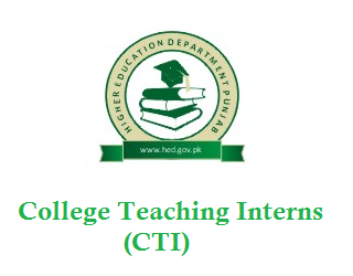 Jobs Of College Teaching Interns(CTI) in Punjab