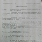 Sindh Govt Notification to Increase Pension of Civil pensioners 2015 a