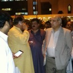 Mushahid ullah Khan at Karachi Airport