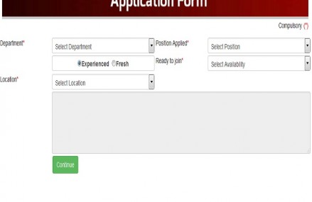 Bahria Town TV Online Application Form