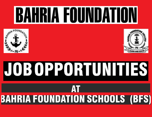 Baharia Foundation Schools Jobs in Jhelum, Sargodha, Rawalpindi
