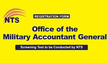 Application Form NTS - Military Accountant General (MAG)