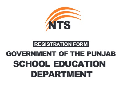 NTS Application Form - Punjab School Education Department for Educators