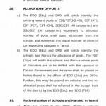 Punjab Educators Recruitment Policy Page 20