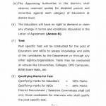 Punjab Educators Recruitment Policy Page 5