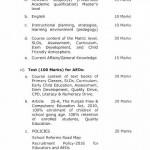 Punjab Educators Recruitment Policy Page 8
